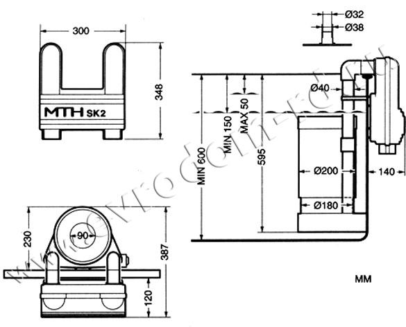Скиммер навесной SK2 (M203211)